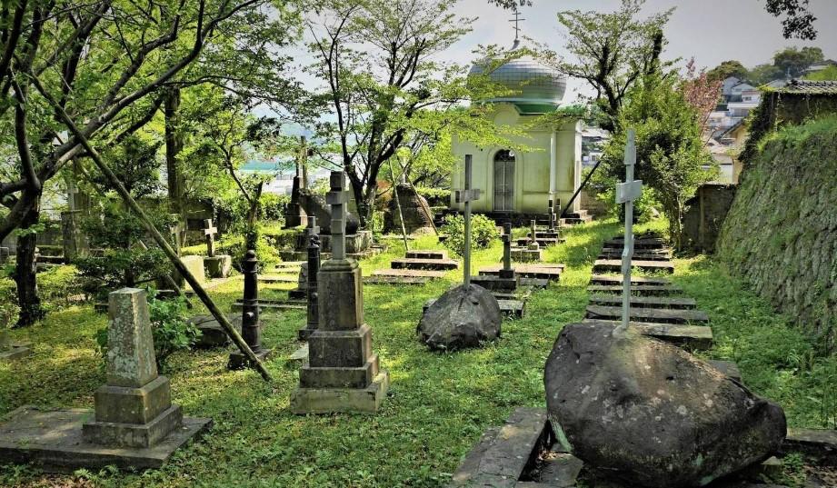 О русском кладбище в Нагасаки